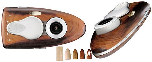 6. Olympus 3D Wooden Camera